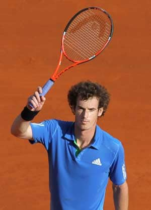 Murray in third round of Barcelona Open
