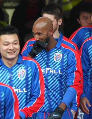 Steve Clarke confirms mourning Nicolas Anelka contemplating retirement