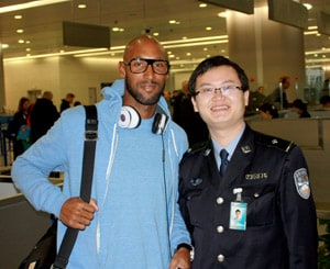 Anelka lands in China amid high hopes