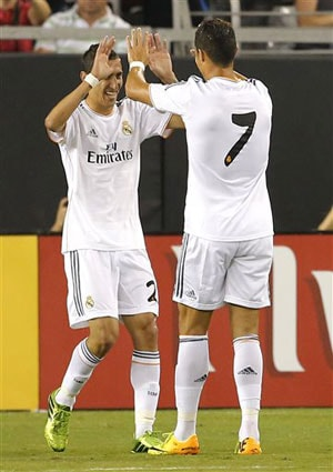 Real Madrid CF down LA Galaxy 3-1 in International Champions Cup