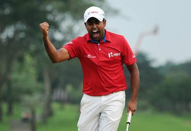 Anirban Lahiri's win catapults him to career-high 67 in rankings