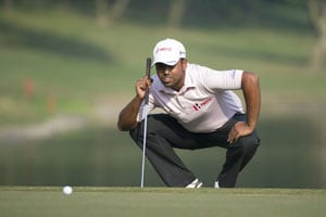 Anirban Lahiri moves to tied second as Sergio Garcia moves four shots ahead in Thailand golf