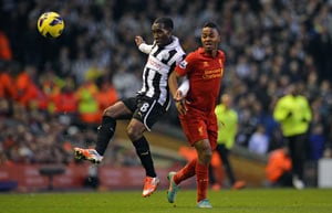Liverpool pull one back to draw Newcastle