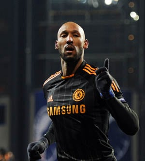 Anelka double eases pressure on Ancelotti