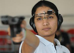 Rahi, Annu fail to make the final of 25m pistol event
