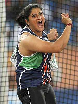 Discus thrower Seema Antil qualifies for London Olympics