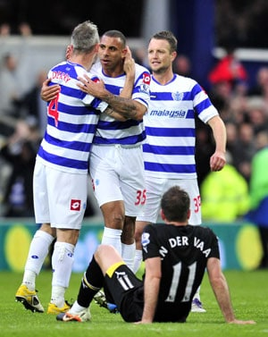 Redknapp admits stress as Tottenham lose to QPR