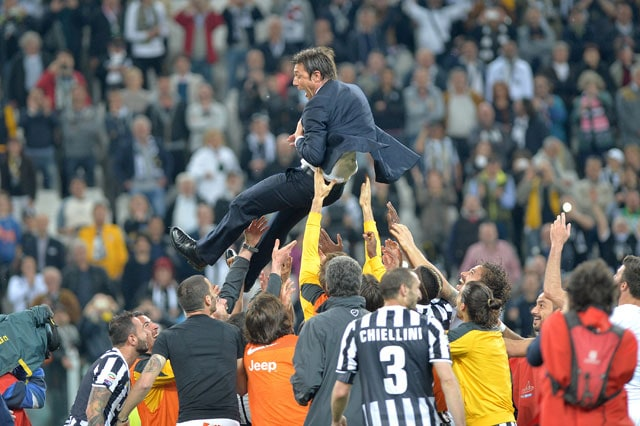 Juventus F.C. Celebrate Serie A Title by Beating Atalanta 1-0