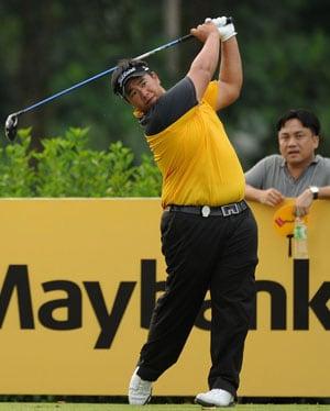 Kiradech leads Wu, Schwartzel at Malaysian Open
