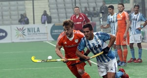 Hockey World League Final: Argentina shock Netherlands, Australia beat Belgium in Pool B