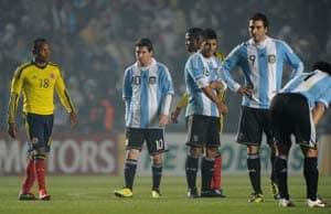 Argentina, Ecuador play to goal-less draw in friendly