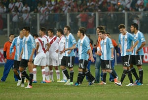 Argentina up to second behind Spain in FIFA rankings
