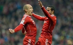Bayern Munich rout Schalke for 20-point Bundesliga lead