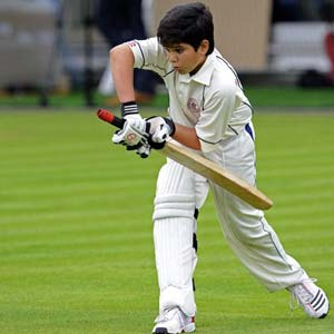 Arjun Tendulkar slams his maiden hundred