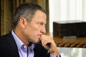 Lance Armstrong turns emotional in 2nd part of interview with Oprah Winfrey