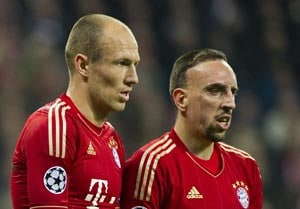 Ribery fined after Robben bust-up - report