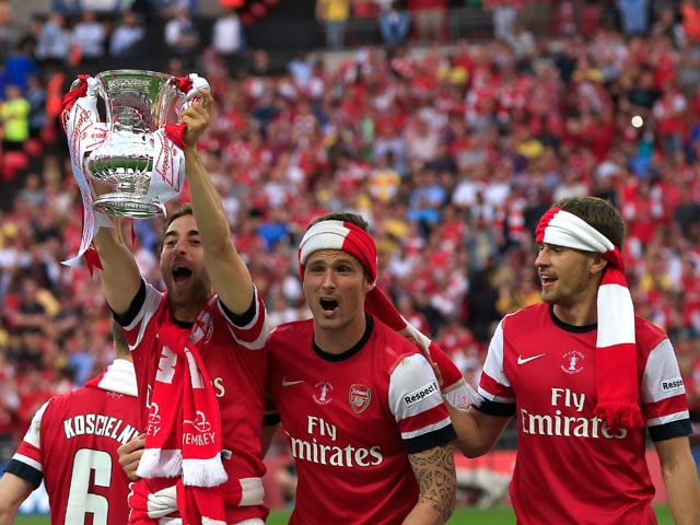 Arsenal FC Beat Hull City to Win FA Cup