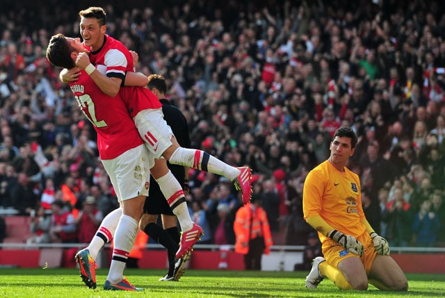 FA Cup: Arsenal F.C. beat Everton 4-1 to cruise into semifinals