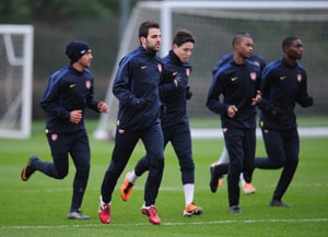 Arsenal set to take the attack to Barcelona