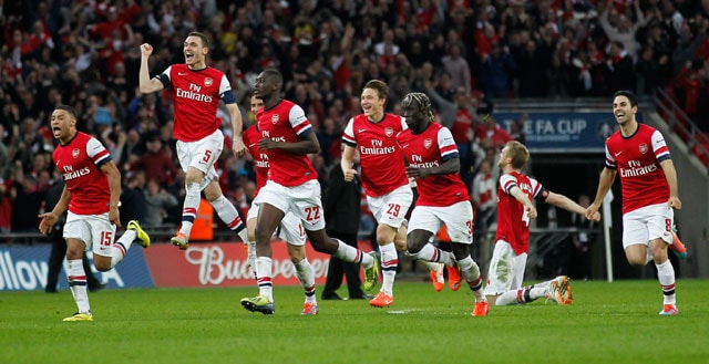 Arsenal F.C. edge Wigan Athletic to reach FA Cup final after nine years