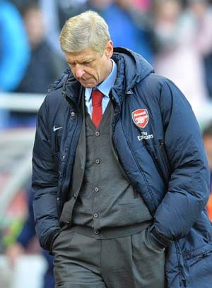 Stoke defeat a major blow, admits Arsene Wenger