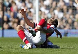 Mikel Arteta injury sparks Arsenal concern