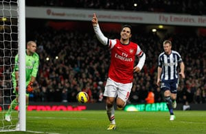 Mikel Arteta's double gives Arsenal 2-0 win over West Brom