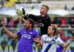 Fiorentina hurt Inter Milan's Champions League hopes