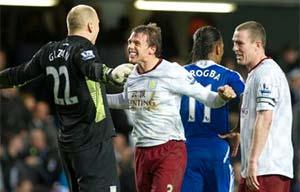 Chelsea stunned as Villa storm the Bridge