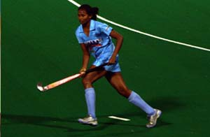 Indian women hockey captain used brother's shoe for practice