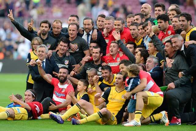 Atletico Madrid Draw FC Barcelona to Win Spanish League Title