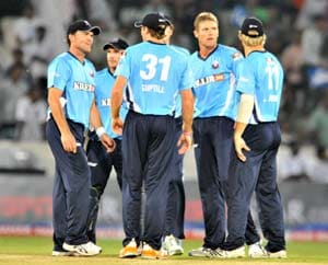 Auckland Aces take on hapless Perth Scorchers in CLT20