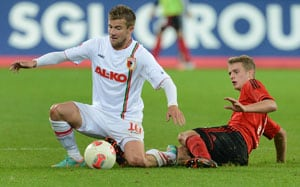 Augsburg shock Bremen 3-1 at German Bundesliga