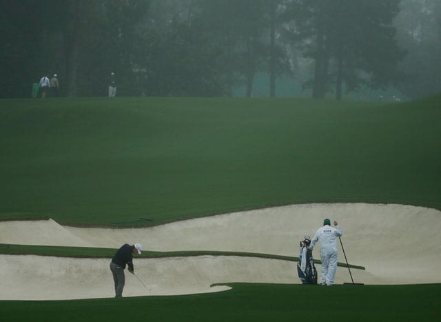 Rain washes out first Augusta Masters practice