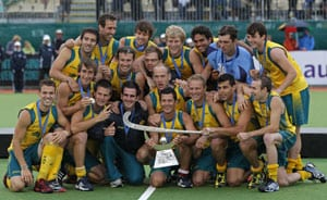 Australia win fourth straight Champions Trophy