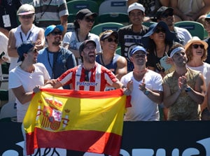 Officials play down extreme heat risk at Australian Open