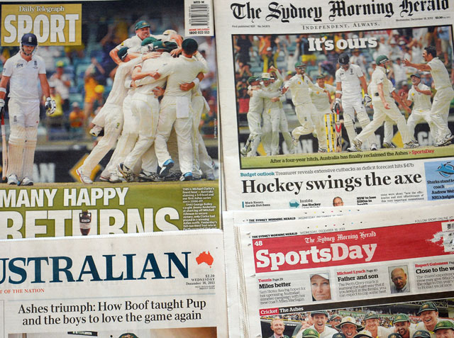 Glory days are back: Australian media