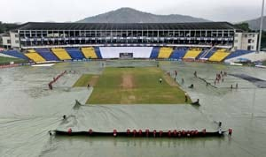 Sri Lanka, Australia draw rain-hit second Test