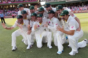Ashes rout boosts Australia to world No.3 Test side