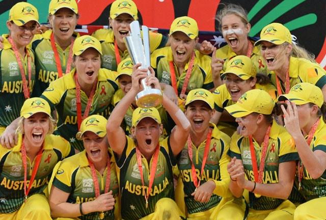 Australia bag hat-trick of women's ICC World Twenty20 titles