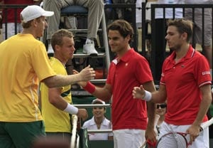 Australia take 2-1 lead in Davis Cup