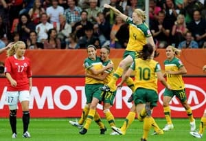 Sweden, Australia into last eight after shock wins