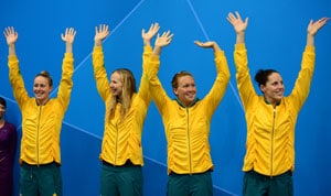 Swimming: Australian officials probe Olympic prank claims