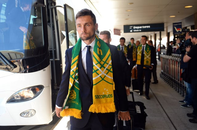 Australia Arrive for FIFA World Cup Amidst Tight Security