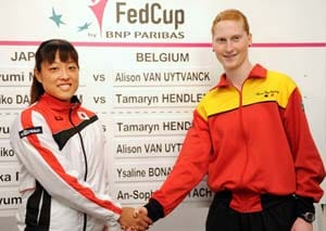 Japan win berth in Fed Cup World Group