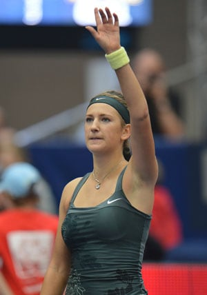 Victoria Azarenka fighting to get fit for 2014