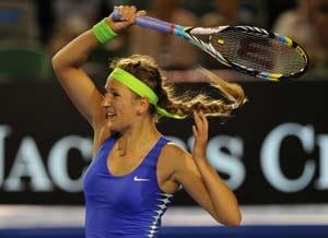 Azarenka reaches 4th round at Australian Open