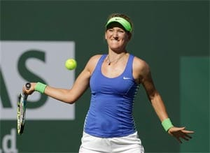 Practice makes perfect for top seed Azarenka