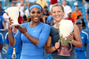 Victoria Azarenka beats Serena Williams to win Cincinnati WTA title