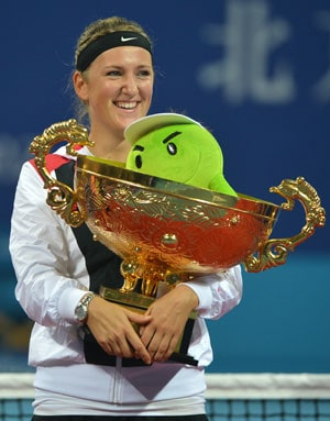 I'm not finished yet, warns victorious Victoria Azarenka